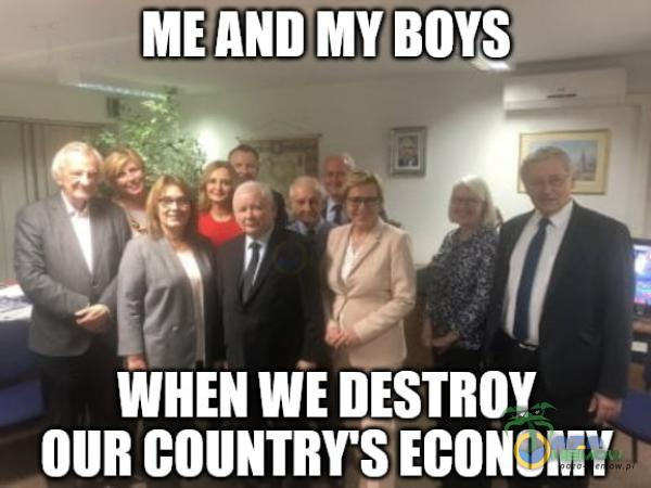 WHEN WE DESTROY OUR COUNTRY S ECONOMY
