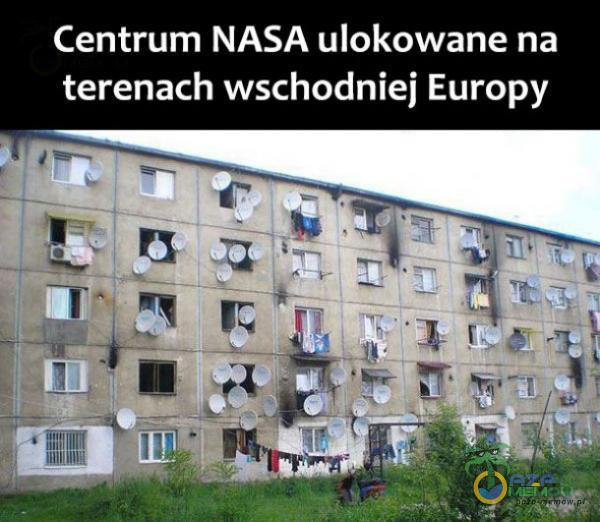 Centrum NASA ulokowane na terenach wschodniej Europy ? mwmw * IIIIIW llll