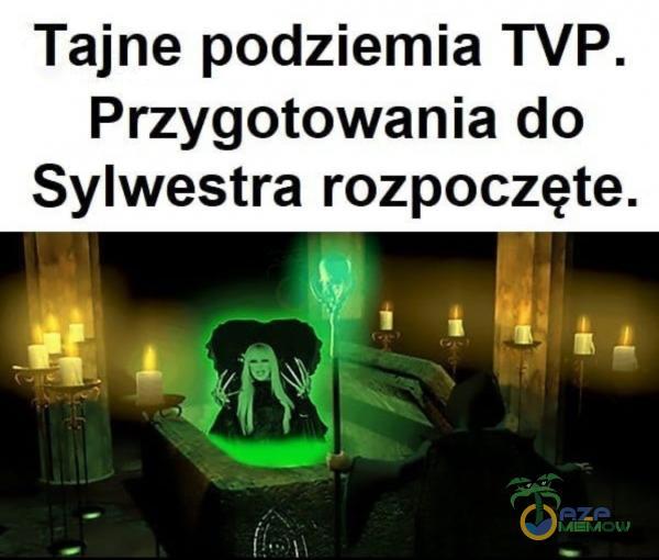 Tajne podziemia TVP. Przygotowania do Sylwestra rozpoczęte.