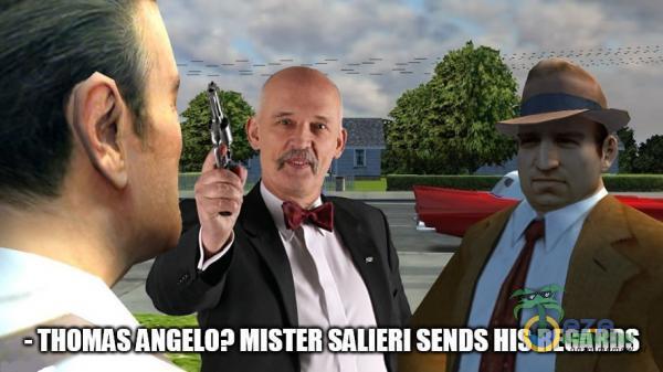 - THOMAS ANGELO MISTER SALIERI SENDS HIS REGARDS