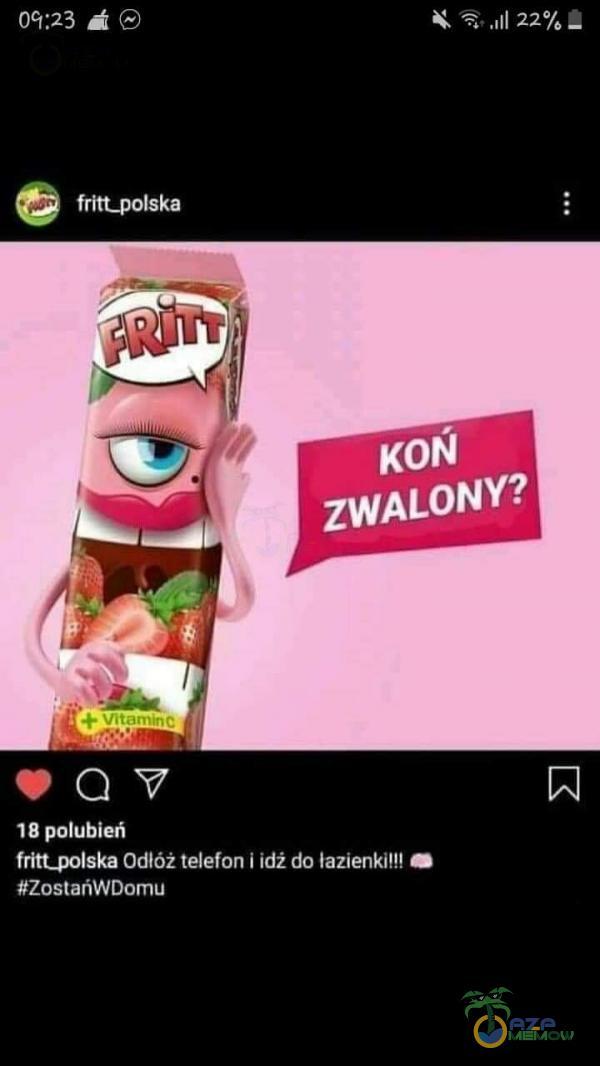 Prez JO) | SOMIĘCYAĄ LETS fritt polska Odlóż telefon I idź da łazienki cm tZostańWwBomu