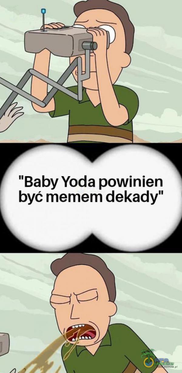 """Baby Yoda powinien być memem dekady"""""""