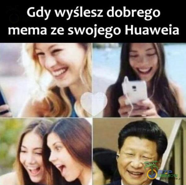 Gdy wyślesz dobrego mema ze swojego Huaweia L