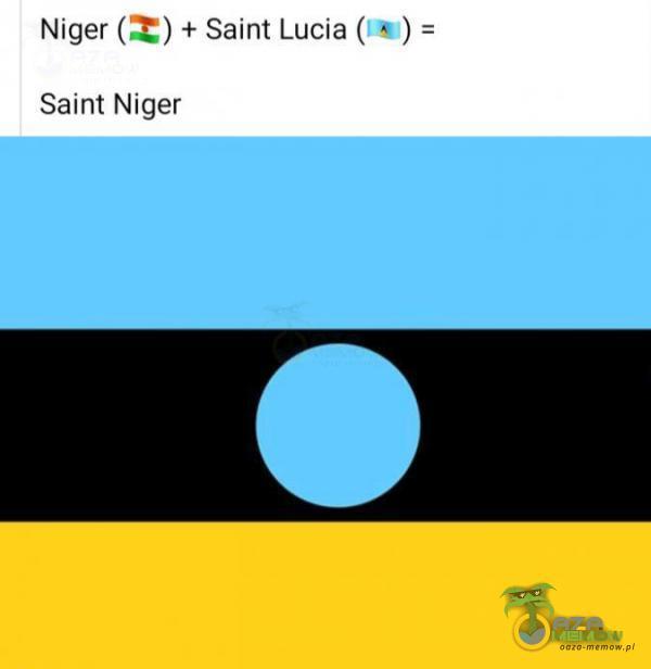 [  Niger( P,] + Saint Lucia( . ) Saint Niger
