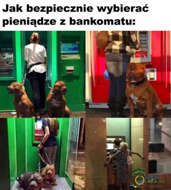 Jak bezpiecznie wybierać pieniądze z bankomatu: