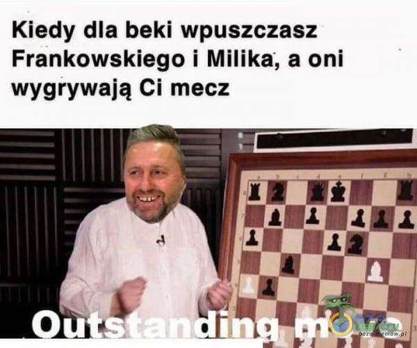 Kiedy dla beki wpuszczasz Frankowskiego i Milika, a oni wygrywają Ci mecz
