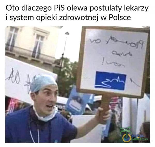 Oto dlaczego PiS olewa postulaty lekarzy i system opieki zdrowotnej w Polsce