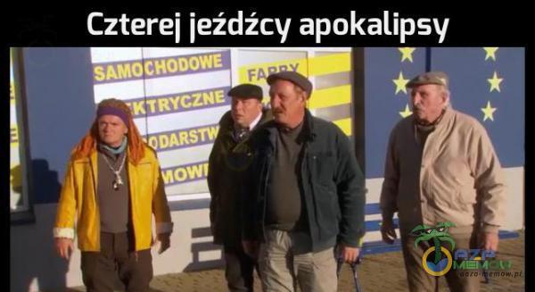 """Czterej jeźdźcy apokalipsy .""""._*›"""