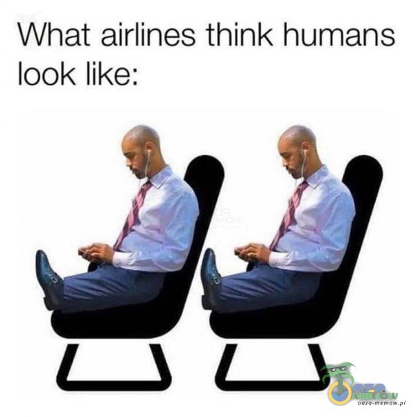 What airlines think humans look like: