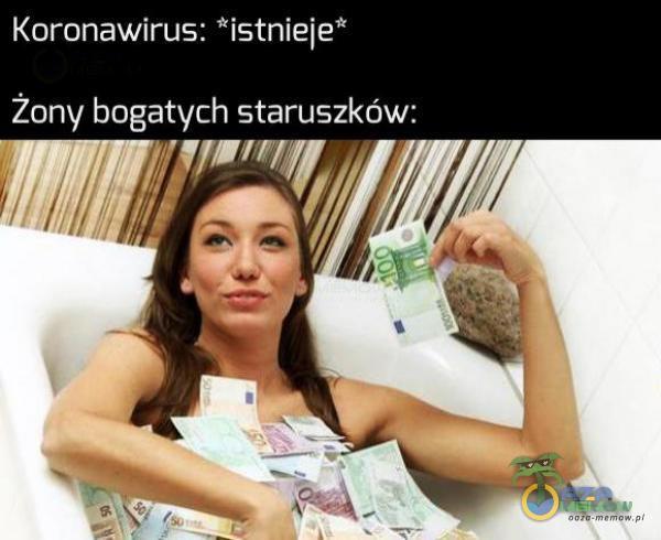 Koronawirus: istnieje Żony Sk staruszków: