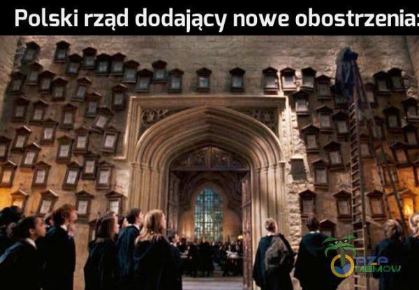 Polski rząd dodający nowe obostczenia: