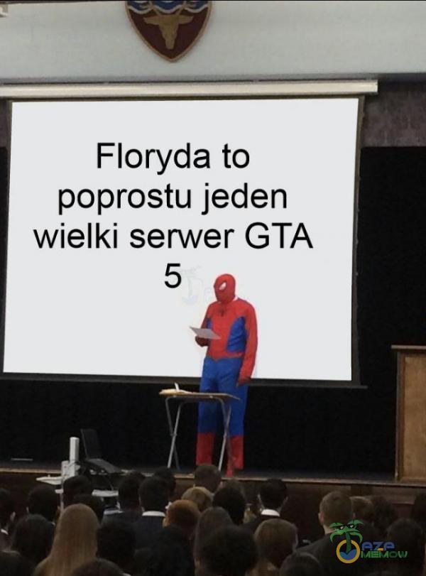 Floryda to poprostu jeden wielki serwer GTA