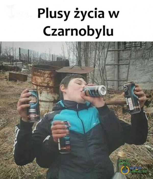 Plusy życia w Czarnobylu