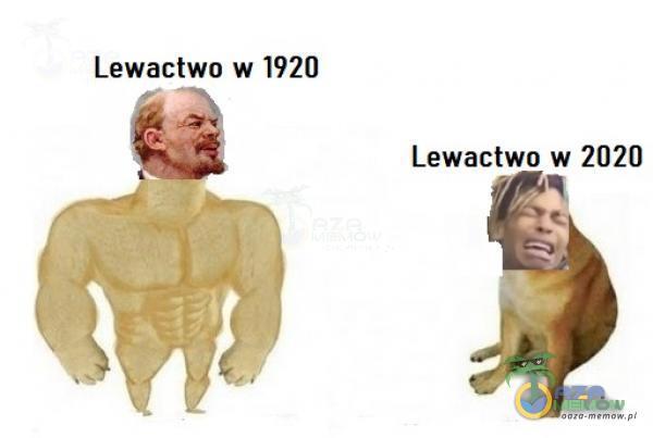 Lewactwo w 1920 Lewactwo w 2020
