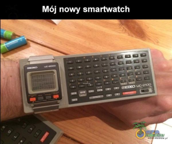 Mój nowy smartwatch