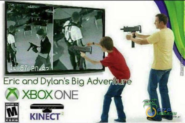 Eric and Dylan's Big 7î XBOXONE KINECT
