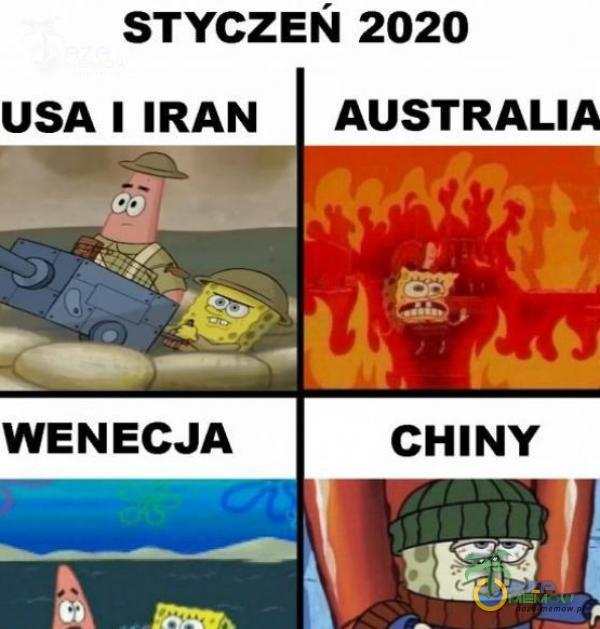"STYczsń 2020 USA ] IRAN AUSTRALI * __ 53 M Trx ?%?""!"