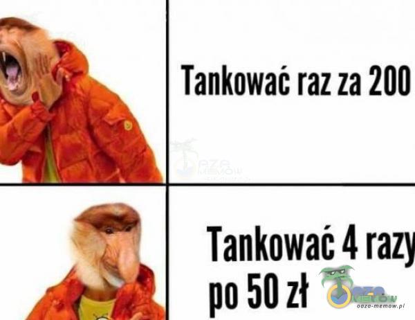 """Tankawać raz za 200 """" TankowaMrazy › """" po 501!"""