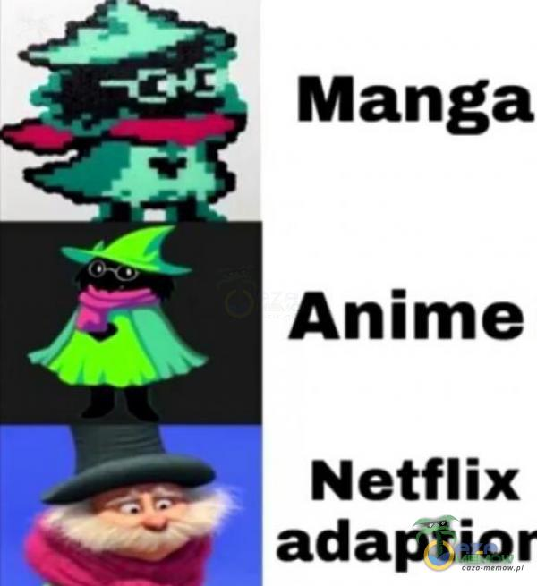 Netflix adaptior