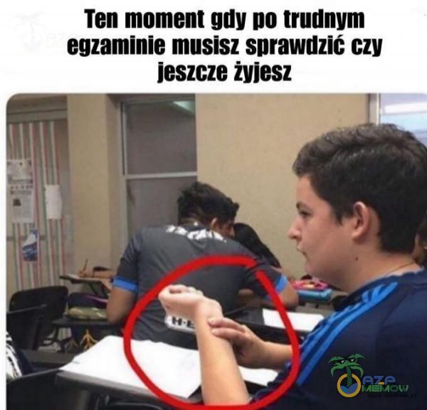 Tell mnmanl um! Illl lrudnlrm egzaminie musisz snrawuzlć B!!! 198sz Wies: