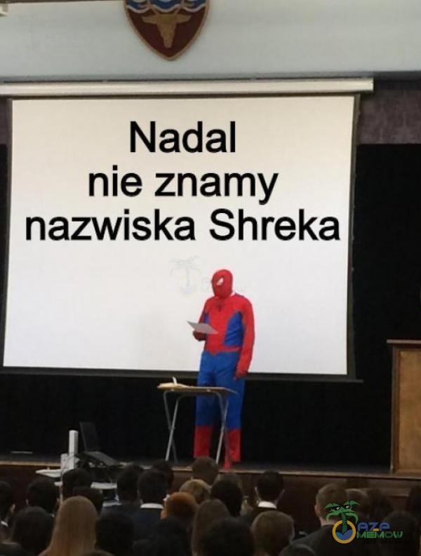 Nadal nie znamy nazwiska Shreka