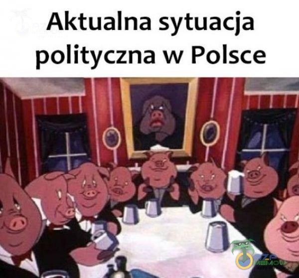 """Aktualna sytuacja polityczna w Polsce """"_ n » ____ I"""