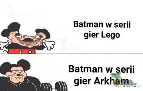 Batman w serii gier Lego Batman w serii W gier Arkham