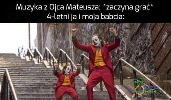 """Muzyka z Ojca Mateusza: zaczyna grać"""" 4— Letni  a i mnie babcia. gg»"""