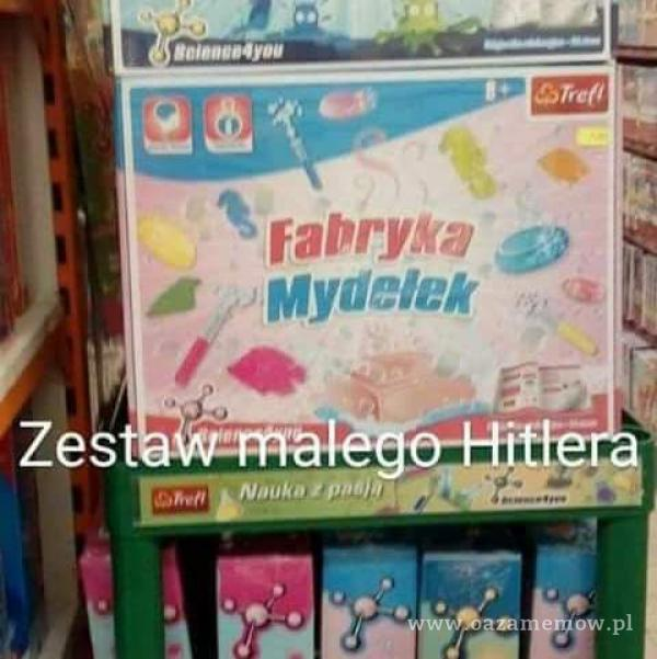 A Ze Mydełek ó,