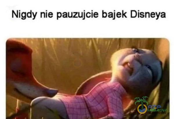 Nigdy nie pauzujcie bajek Disneya