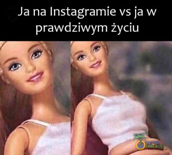 Ja na Instagramie vs ja w