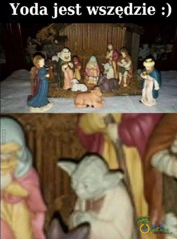 Yoda jest wszędzie :)