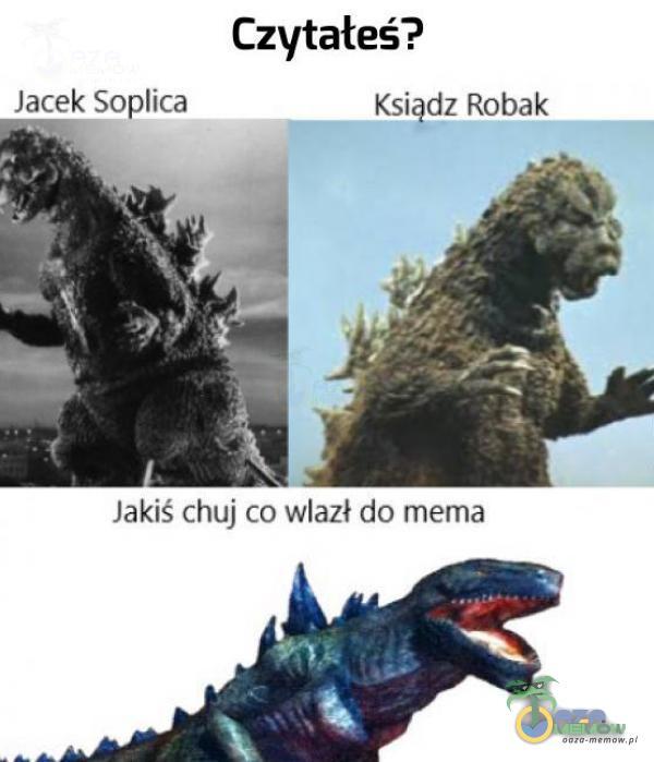 Czytałeś? Jacek Soica KąiąaerQLmk lakiś ( h*j co wlazł do memu