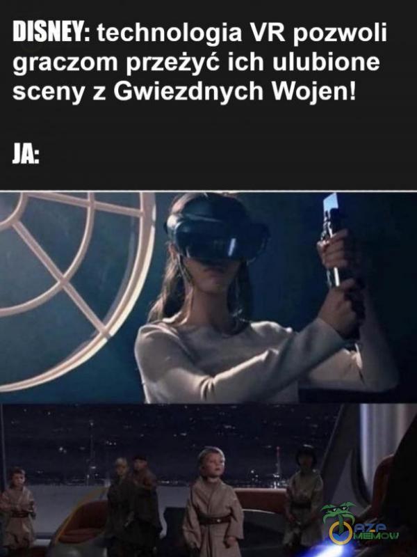 DISNEY: technologia VR pozwoli graczom przeżyć ich ulubione sceny z Gwiezdnych Wojen! LS