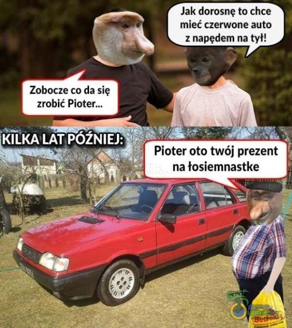 """- N Jak dorosne to chce f mieć czerwone auta -"""" :rx : napędem na tv"""" «i ; 4 ."""" Zobacze co da się zrobić Platan Pioter oto twój prezent na łosiemnastke ,."""