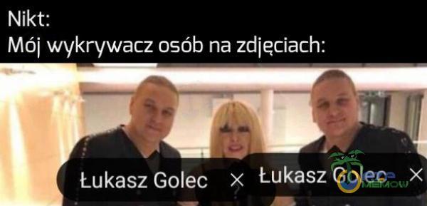 NSS Mój wykrywacz osób na zdjęciach: Łukasz Golec x tukaszGolec x