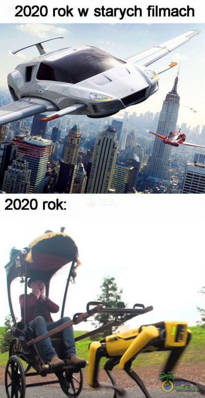 2020 rok w starych filmach