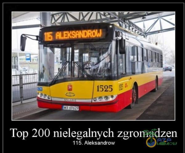 Top 200 nielegalnych zgromadzen 115. Aleksandrow