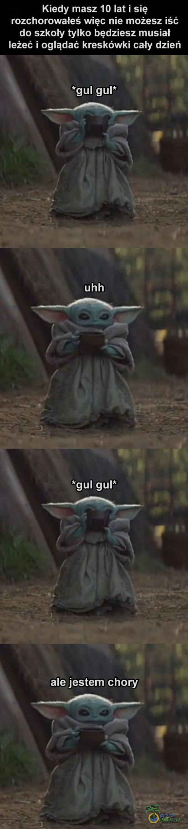 Kiedy masz 10 lat i się rozchorowaieś więc nie możesz iść do szkoły tylko będziesz musiał leżeć i oglądać kreskówki cały dzień *gul gul* __Ą— , x uhh *gul gul* ale jestem chory ___/«___. )*- N