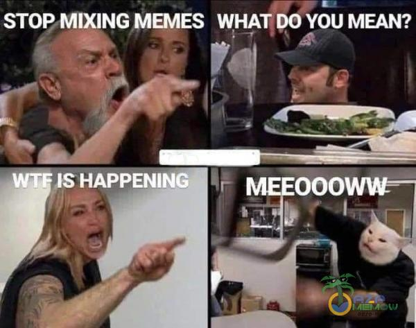 STOP, MIXING MEMES mm po voi: MEAN?