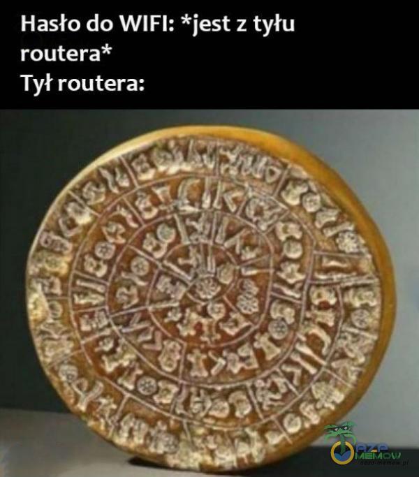 Hasło do WIFI: *jest z tyłu Ct jed Tył routera: