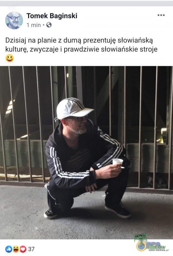 Tomek Baginski 1 min • O Dzisiaj na anie z dumą prezentuję słowiańską kulturę, zwyczaje i prawdziwie słowiańskie stroje 0 37