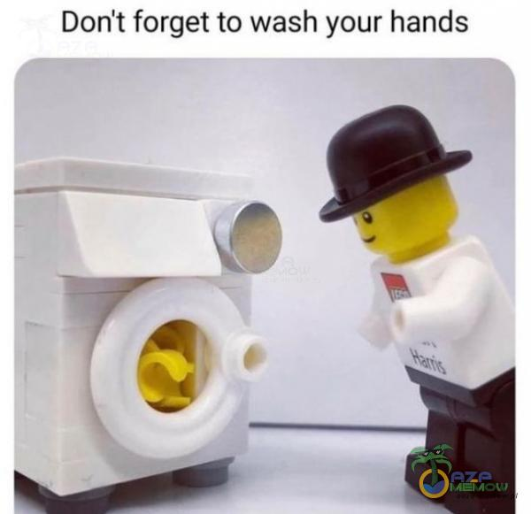 Dont forget to wash your hands e a i m [99