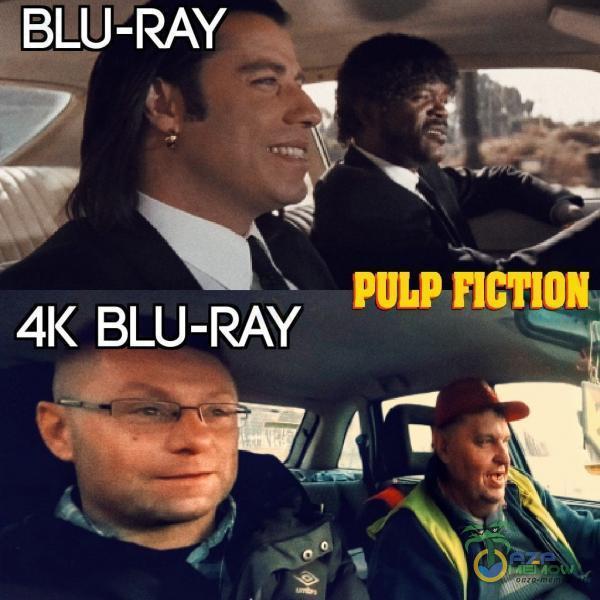 BLU-RAY - PULP ncT10N BLU-RAY