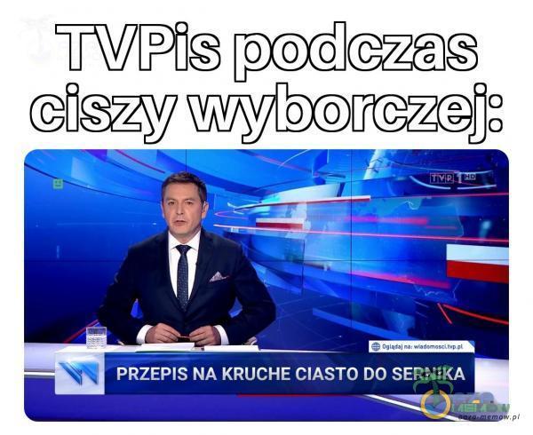TVPis pocczas Giszy wyborczej: - — uj == 4 NT
