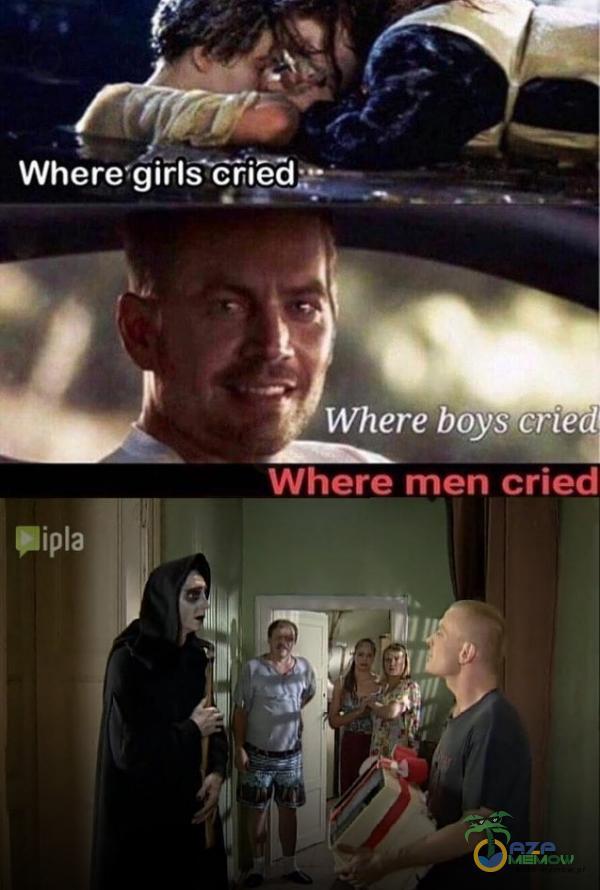 Where•giŕls cried• Where boys-cried Where men cried •ia