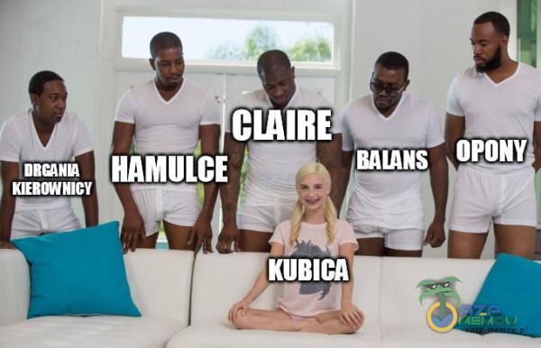 KIERNNICY CIAIRE BALANS HAMULCE KUBICA OPONY
