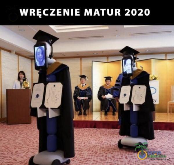 WRĘCZENIE MATUR 2020