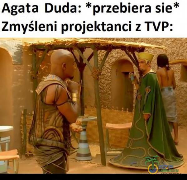Agata Duda: *przebiera sie* Zmyśleni projektanci z TVP: s JR ——— sa MI R 2 Z Sa | | są sra