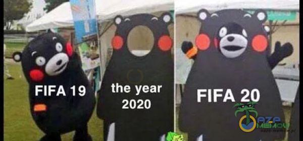 FIFA 19 the year 2020 FIFA 20